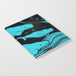 Beluga Whale Pod (Blue Variant) Notebook