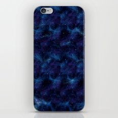 Blue space iPhone & iPod Skin