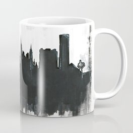 Las Vegas Skyline Painting Coffee Mug