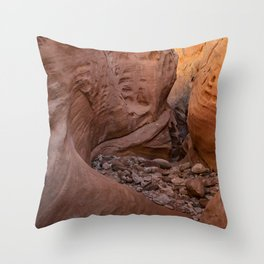 Little_Wild_Horse_Canyon 0076 - Utah Throw Pillow
