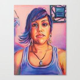 Mug Shot, A. Garcia Canvas Print