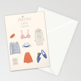 Parisian Chic: Starter Pack Stationery Cards