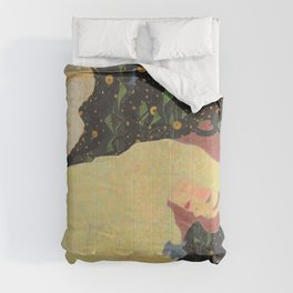 "Egon Schiele ""Daneae"" Comforters"