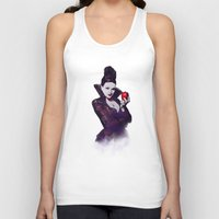 evil queen Tank Tops featuring The Evil Queen V2 by Cursed Rose