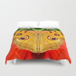 Meadow Argus Butterfly Duvet Cover