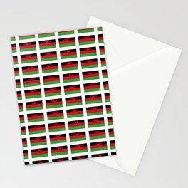 Flag of malawi-Malawian,nyasaland,warm heart,chichewa,chewa,lomwe,lilongwe Stationery Cards