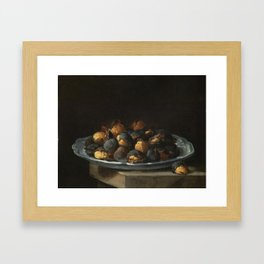 Giacomo Ceruti, called Pitoccheto 'the little beggar' ((Milan, 1698-1767), Still life with roasted c Framed Art Print