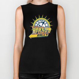 Save The Clocktower Biker Tank