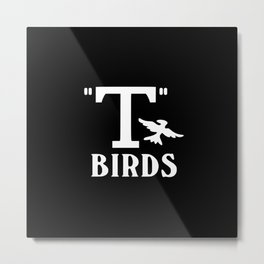 T birds music design Metal Print