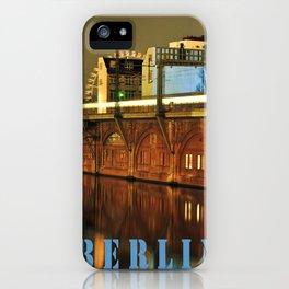 NIGHTTRAIN - RIVERSIDE - BERLIN iPhone Case