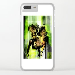 Saints and Sinners Varient 1 Clear iPhone Case