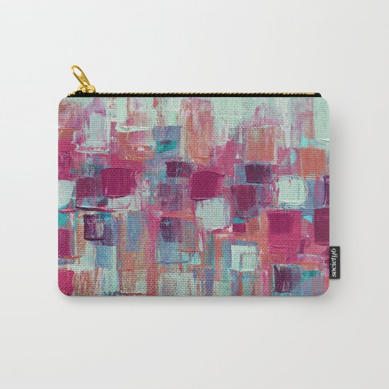 Rose Gold Organic Party No. 1 Carry-All Pouch