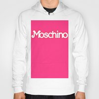moschino Hoodies featuring Moschino Barbie by RickyRicardo787