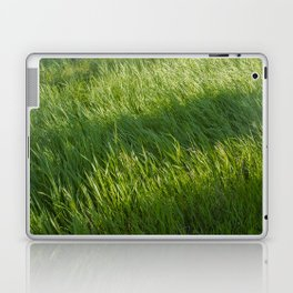 Waves of Grass Laptop & iPad Skin