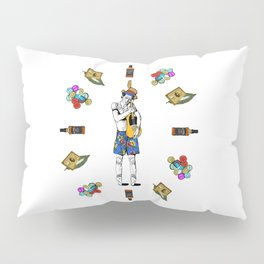 Keith Richars-  rock and roll life Pillow Sham