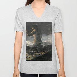 The Colossus - Goya Unisex V-Neck