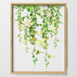Watercolor Ivy Serving Tray