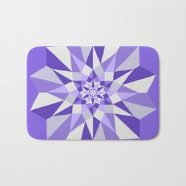 Diamond Purple Mandala Bath Mat