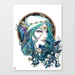 Sailor Aluminium Siren - Sailor Moon Fanart Canvas Print
