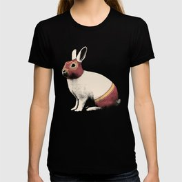 Lapin Catcheur (Rabbit Wrestler) T-shirt