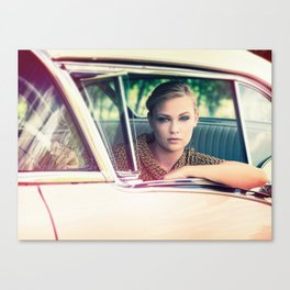 Vintage Ride Canvas Print