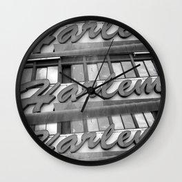 Harlem Wall Clock