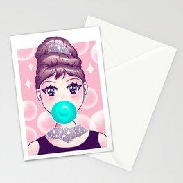 Kawaii Bubble Gum Stationery Cards