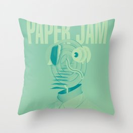 Paper Jam '15 I by Taylor Hale Throw Pillow