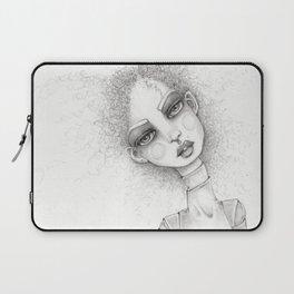 JennyMannoArt graphite artwork/Sonya Laptop Sleeve