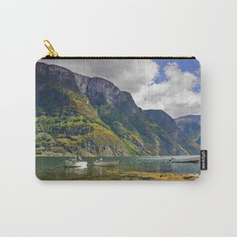 Clear water of fjords Carry-All Pouch