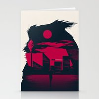 runner Stationery Cards featuring Blade Runner by Inno Theme