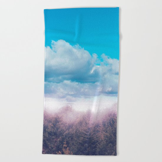 Pastel vibes 43 Beach Towel