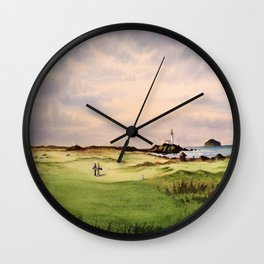 Turnberry Golf Course 12th Hole Wall Clock