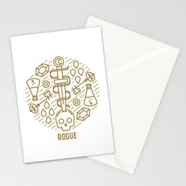 Rogue Emblem Stationery Cards
