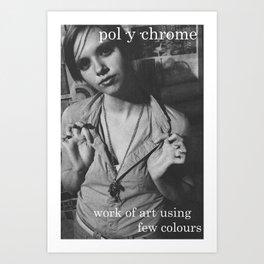 Polychrome. Art Print