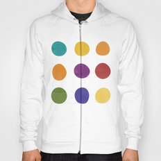 Color Dots Hoody