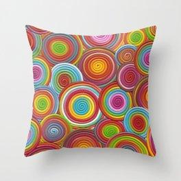 Magic Rainbows Throw Pillow