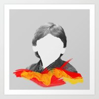 I'm Ron by the way, Ron Weasley. Art Print