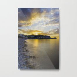 Sunset Little Orme Metal Print