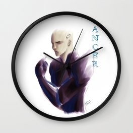 Cancer Sign - Zodiac series by OccultArt Wall Clock