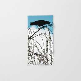 Cawing Crow Hand & Bath Towel