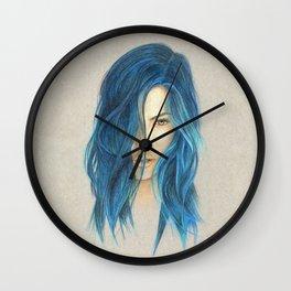 """Blue"" Wall Clock"