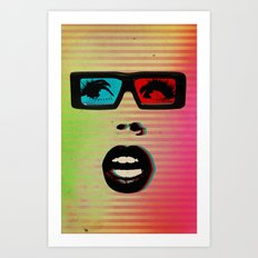 Color Chaos Collection -- 3D Art Print
