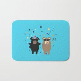 Party Bear Bath Mat