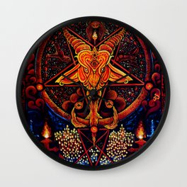 Worship No One Wall Clock