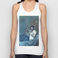 fullmetal alchemist Tank Tops featuring THE ALCHEMIST by Julia Lillard Art