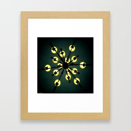 Weightless Cluster Framed Art Print