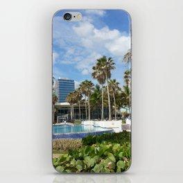 Caribe Hilton, San Juan, Puerto Rico, before Maria iPhone Skin