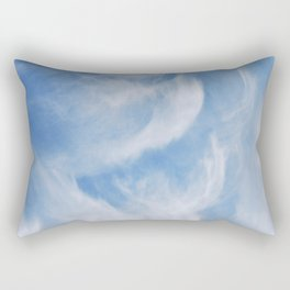 Clouds and sky Rectangular Pillow