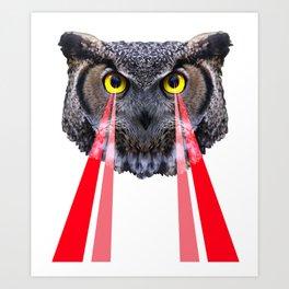 layzer owlz Art Print